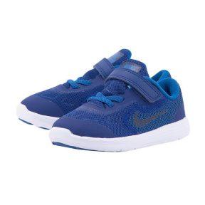 Nike – Nike Revolution 3 (TDV) Toddler 819415-408 – ΜΠΛΕ ΣΚΟΥΡΟ