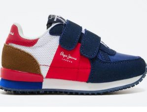 PEPE JEANS ΠΑΙΔΙΚΑ SNEAKERS PBS30490 NAVY