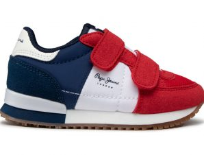 PEPE JEANS ΠΑΙΔΙΚΑ SNEAKERS PBS30489 NAVY