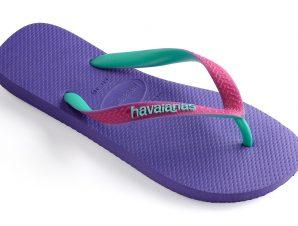 HAVAIANAS FLIP FLOP TOP MIX I25 PURPLE