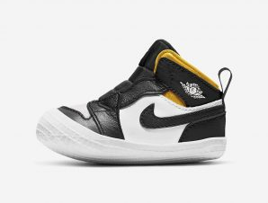 Jordan 1 Crib Bootie Infants' Shoes (9000043500_42903)